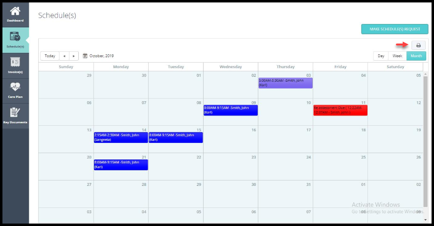 Refinement of client portal calendar export jan update