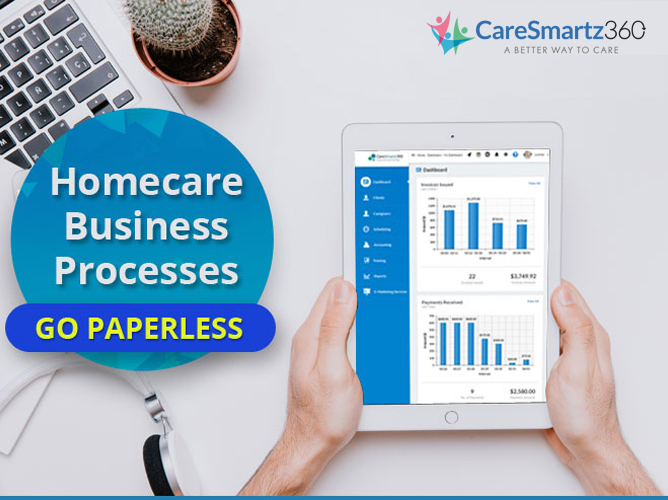 Go Paperless for your Homecare Business Processes
