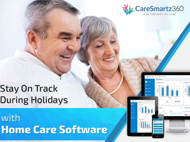 Stay On Track during the Holidays with Home Care Software