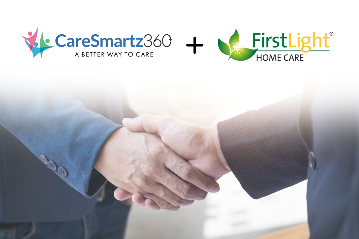 Caresmartz Partners with FirstLight Home Care