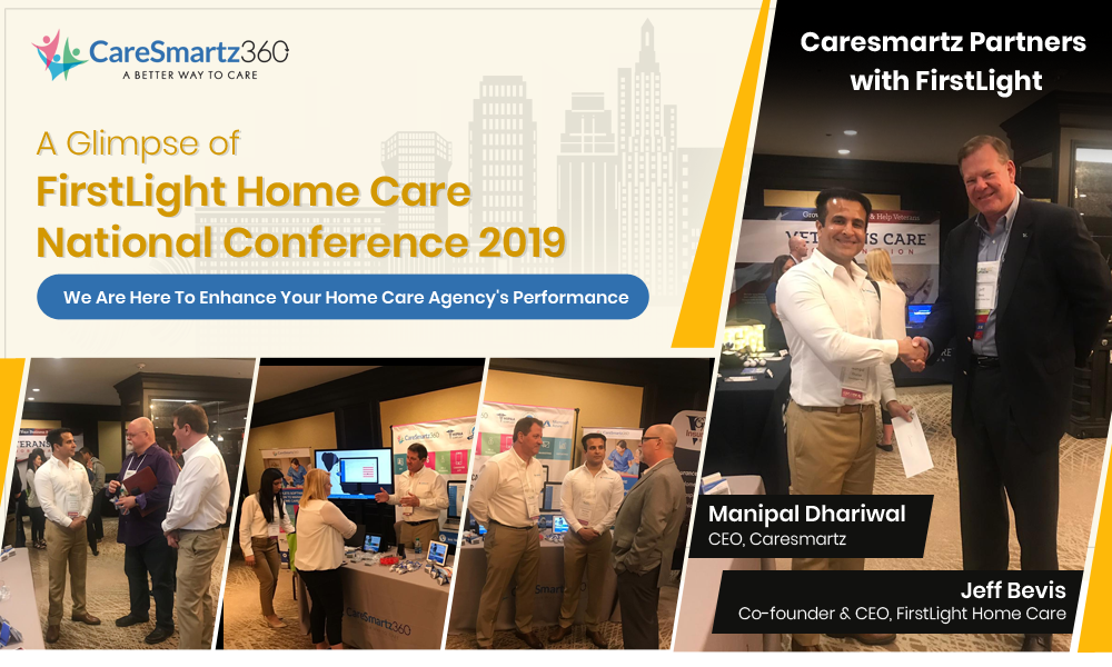 Caresmartz at FirstLight Home Care National Conference