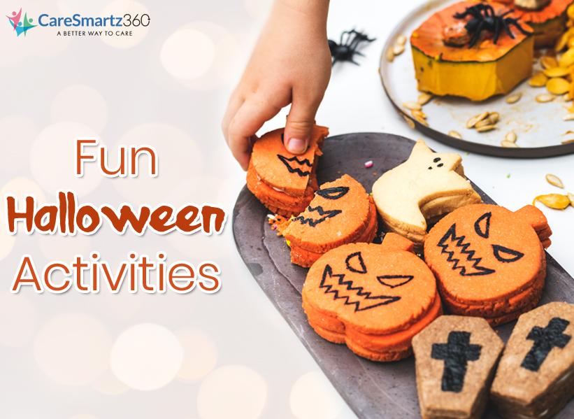 Fun Halloween Activities for seniors and caregivers