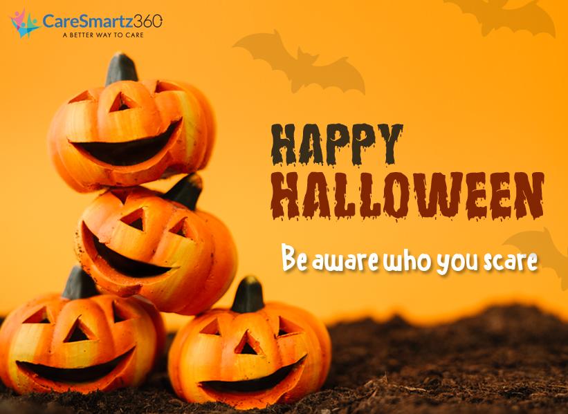 Less Spooky Halloween for seniors
