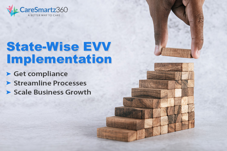 state wise evv implementation