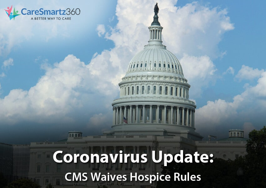 CMS Waives Hospice Rules