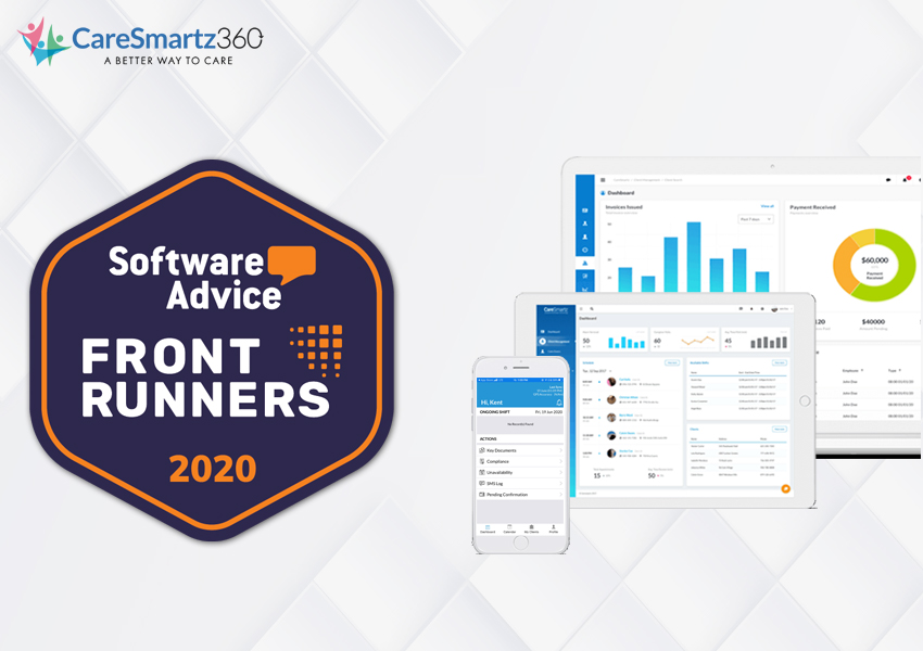 CareSmartz360 Ascends to FrontRunners® in Home Health Software Category