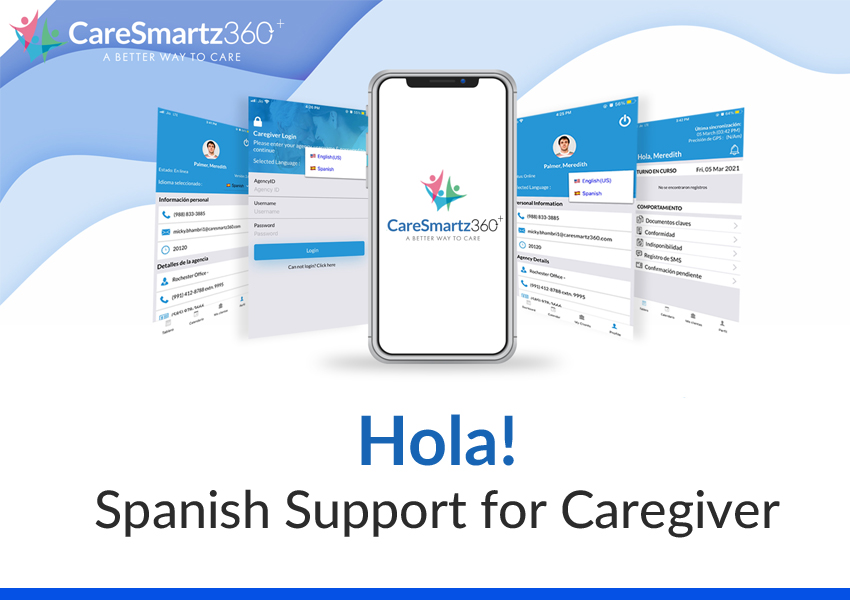 CareSmartz360+ app is now available in Spanish language