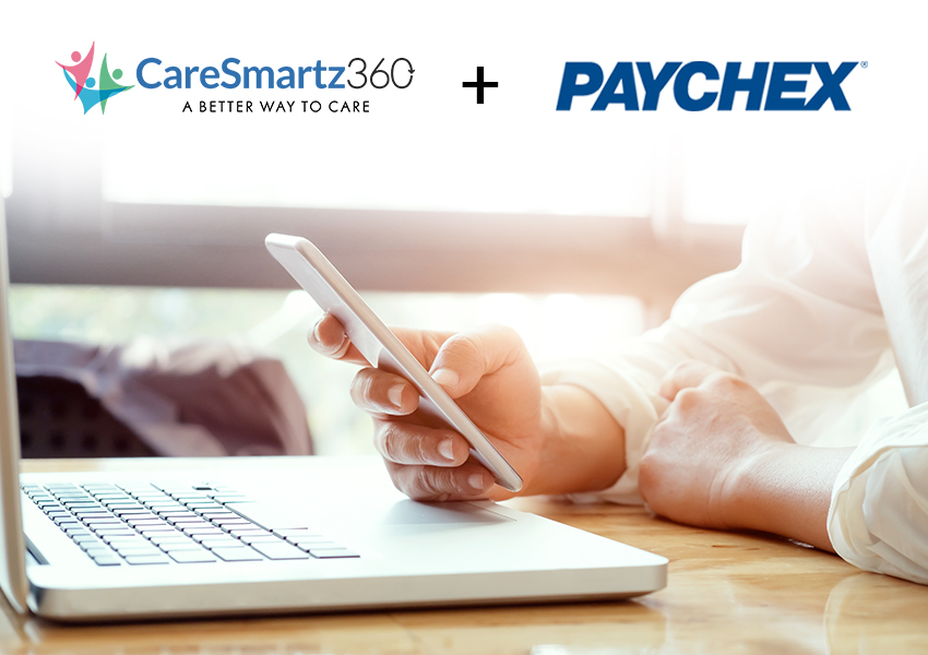 CareSmartz360 Integrates with Paychex