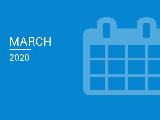March Software Update 2020