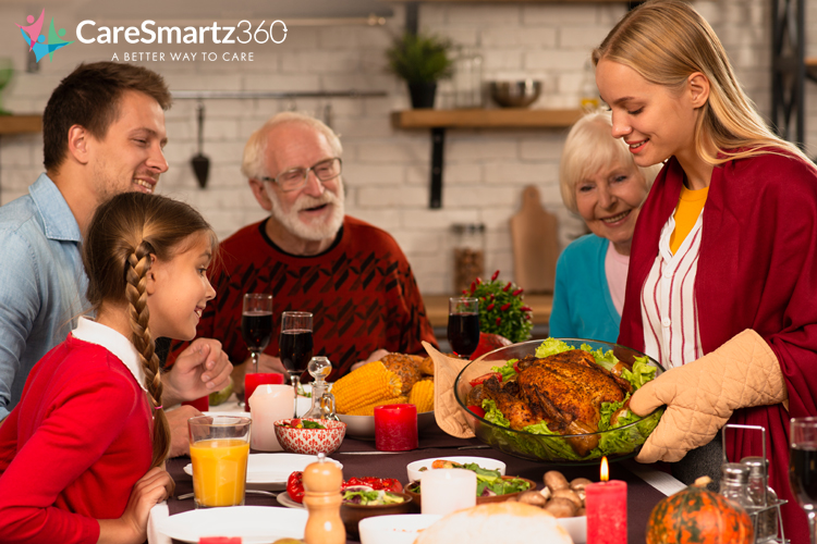 planning thanksgiving day with your elders