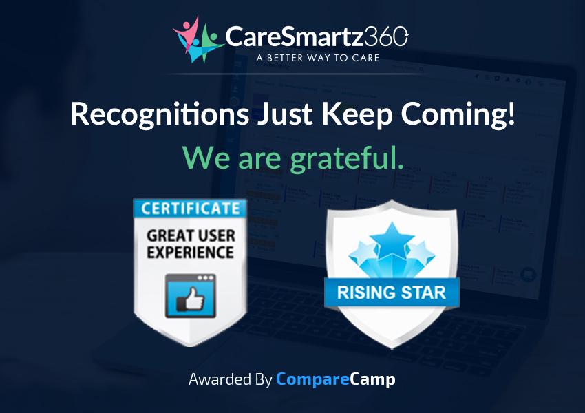 Celebrating Success CareSmartz360 wins two awards